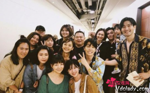 Super Junior在台北开演唱会  陈意涵晒和崔始源、李东海合照