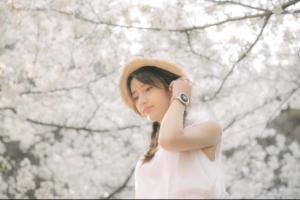 又到一年樱花季,与荣耀手表Dream系列一起合拍梦幻写真