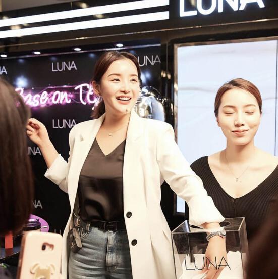 化妆前后差距最大的韩国美妆博主金宝环