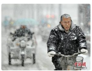 2019年的春天频繁降雪 山西多地降雪 最低气温达到了2度