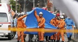 日本持刀伤人事件 15人被刺至少2人死亡