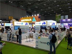亮相国际健康产品展览会,CARUSO'S正式进入中国市场