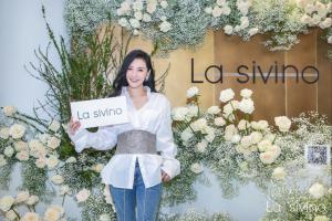 孙晶晶时装新品La sivino上线发布会,让美丽与你不期而遇