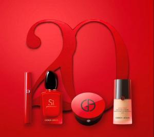 天猫超级品牌日助阵阿玛尼美妆20周年庆典,美妆潮流再定义