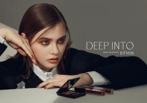 日本天然矿物彩妆品牌ETVOS 2020年秋冬彩妆系列「DEEP INTO」打造至潮复古烟熏妆容
