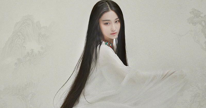 张馨予换个发型就变翻版神仙姐姐 逆天颜值还靠好发质